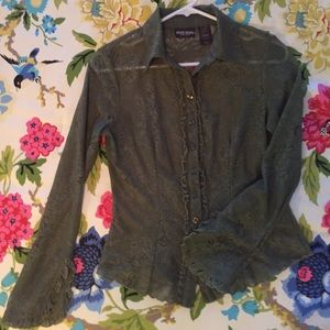 Bisou Bisou lace blouse